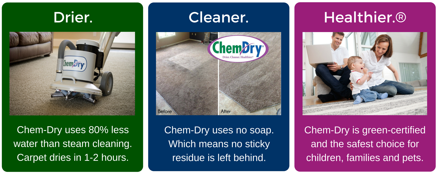 Drier Cleaner Healthier Chem Dry Of Auburn Lincoln