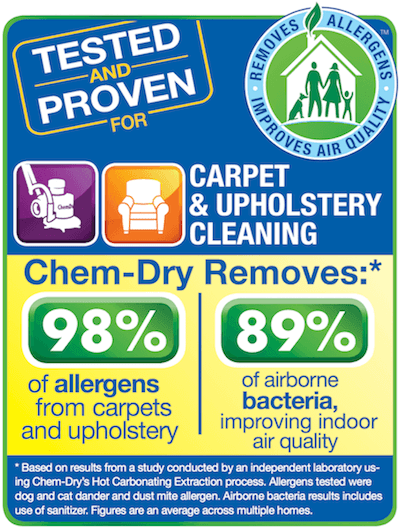 healthy carpet cleaning study